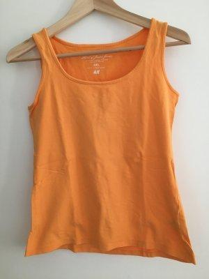 H&M L.O.G.G. Top básico naranja Algodón
