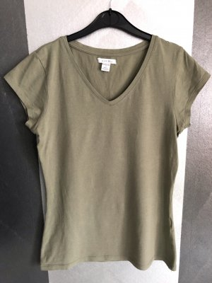 Amisu V-Neck Shirt khaki