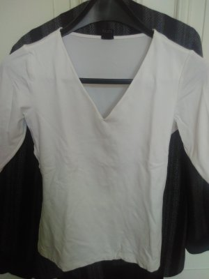 s.Oliver V-hals shirt wit