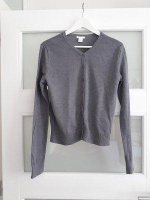 HM Knitted Vest light grey-grey