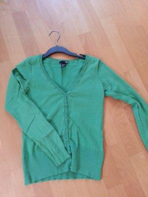 Basic Weste H&M grün XS!! Cardigan