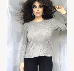 Zara Maglione girocollo grigio