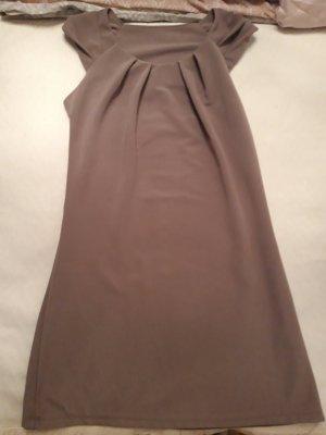 A-lijn jurk grijs-bruin