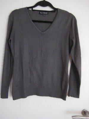 100 Jersey gris oscuro Acrílico