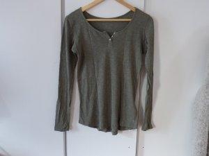 Basicshirt in khaki von Marc O`Polo