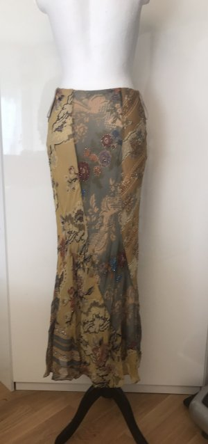 Silk Skirt multicolored