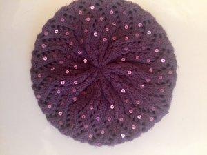 Hallhuber Beret lilac