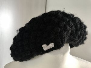 Barts Cappello all'uncinetto nero
