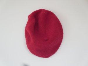 H&M Berretto basco rosso scuro Tessuto misto