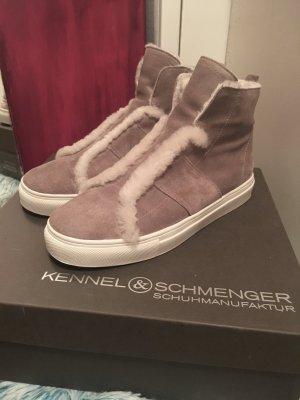 BASKET High Top Sneaker mit Fell von Kennel + Schmenger Gr. 37,5