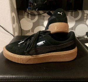 Basket Platform Animal Sneaker Low black/silver PUMA Gr. 38,5