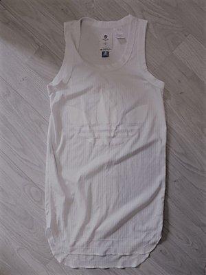 Adidas Originals Camicia oversize bianco Poliestere