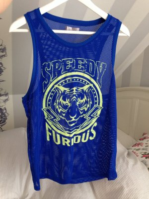 Basketball Top mit Tiger Kopf