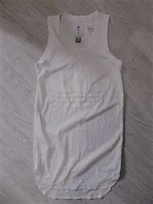 Adidas Originals Oversized Shirt white polyester