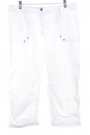 Basler 3/4 Length Trousers white casual look