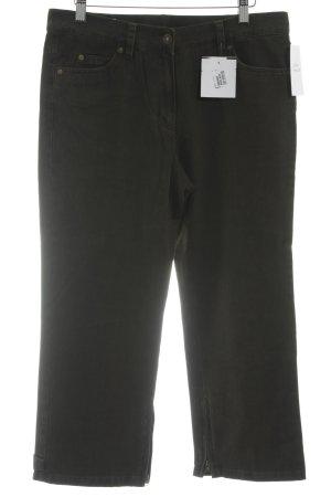 Basler Jeans a 7/8 verde scuro stile casual
