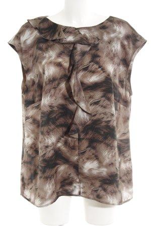 Basler Mouwloze blouse volledige print extravagante stijl
