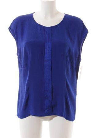 Basler ärmellose Bluse blau Casual-Look