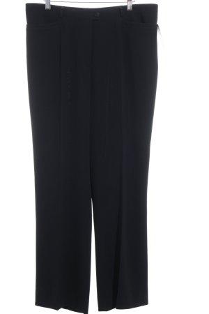 Basler Pantalon de costume noir style d'affaires