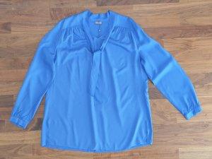 Basler Tie-neck Blouse neon blue-blue