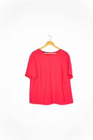 Basler Short Sleeved Blouse neon red