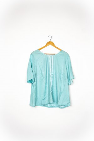 Basler Short Sleeved Blouse baby blue-azure