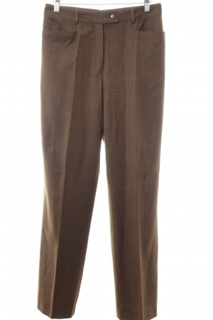 Basler Pleated Trousers light brown flecked Brit look