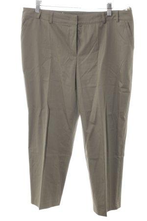 Basler Pantalone a pieghe cachi stile classico