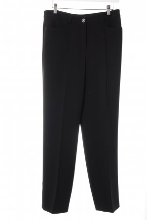 Basler Bundfaltenhose schwarz Business-Look