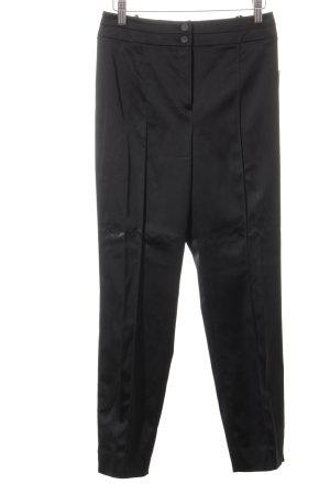 Basler Pantalon à pinces noir élégant