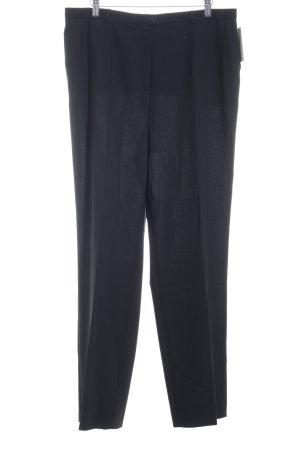 Basler Bundfaltenhose schwarz klassischer Stil