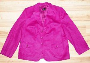 Basler Blazer en laine violet laine angora