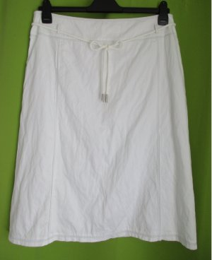 Basler Crash Skirt white cotton