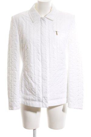 Basler Doudoune blanc-blanc cassé motif de courtepointe style décontracté