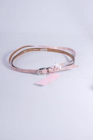 Basler Gürtel rosa-Schlangenmuster