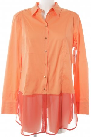 Basler Hemd-Bluse orange-ziegelrot Casual-Look