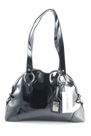 Basler Henkeltasche schwarz-silberfarben Elegant