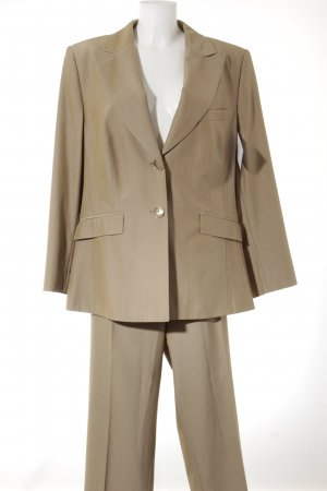 Basler Hosenanzug beige Business-Look