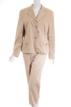 Basler Tailleur-pantalon beige style décontracté