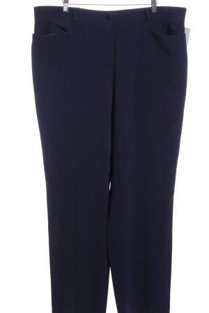 Basler Pantalon taille basse bleu acier style d'affaires