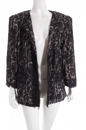 Basler Jacke hellrosa-schwarz Elegant