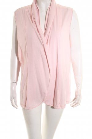 Basler Cardigan rose clair style classique