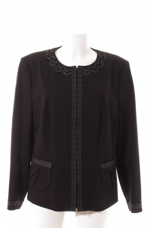 Basler Jerseyblazer schwarz Elegant