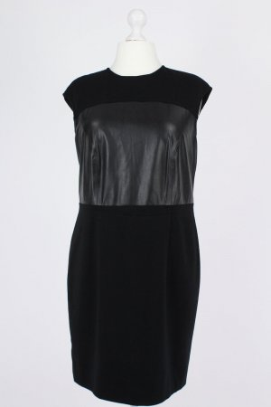 Basler Robe à manches courtes noir