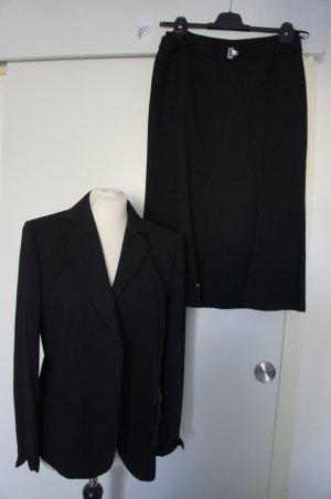 BASLER Kostüm Größe 40 Blazer Rock Anzug Top Zustand