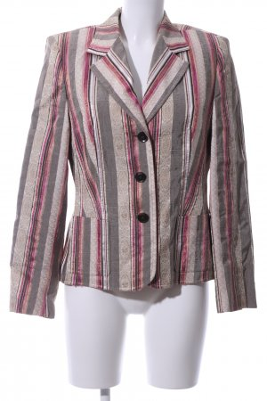 Basler Short Blazer brown-red allover print elegant