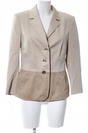 Basler Short Blazer brown-cream casual look