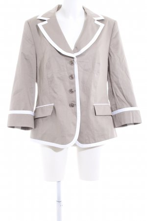 Basler Short Blazer light grey-white casual look