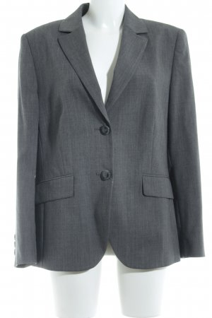 Basler Kurz-Blazer grau Business-Look
