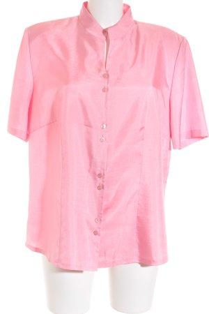 Basler Kurzarm-Bluse rosa Casual-Look